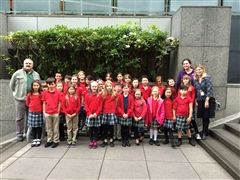 Grade 3 at Benaroya Hall