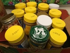 Grade 3 collected 58 jars of nut butter for Pierce County kids