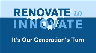 Renovate to Innovate Video