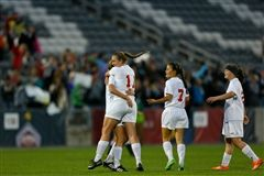 The Colorado Academy Girls Varsity Soccer Team took the state title for the second consecutive year.