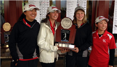 The Colorado Academy Girls Golf Team finished second in the 4A Girls Golf State Tournament yesterday with a team score of +71.