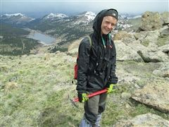 Among birders under 20 years of age, senior Alec Hopping occupies the number one spot in Colorado.