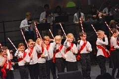 Toy soldiers march in Shore's Winter Concert.
