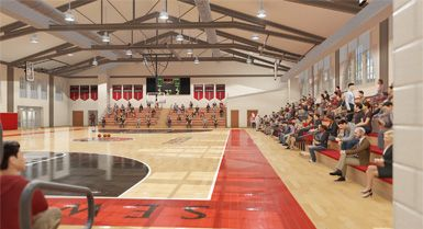 The Events Center & Means Alumni Gym Project
