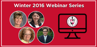 Winter 2016 Webinar Series