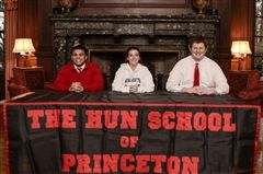 Hun School student-athletes Imamu Mayfield '16 (football – Sacred Heart University), Jessica Johnson '16 (soccer – Monmouth University), and Dan Peltack '16 (football – East Stroudsberg University) signed National Letters of Intent on February 3rd in Russell Lounge at The Hun School of Princeton.