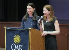 Oak Knoll alumnae, sisters, share their passion for writing during Author's Day