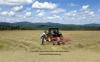 Frye Field/High Mowing School Conservation Project - Summer