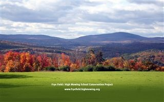Frye Field/High Mowing School Conservation Project - Fall