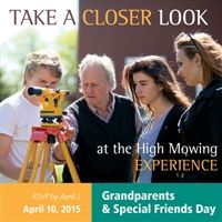 Grandparents and Special Friends Day, April 10, 2015