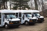 Our trio of new buses were delivered last week.