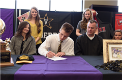CPA athletes sign letters of intent on National Signing Day.