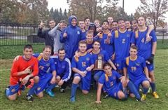 Congratulations to coach Jason Bell and the boys' soccer team on their historic playoff run!