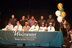 Six Warrior athletes make it official on National Signing Day.